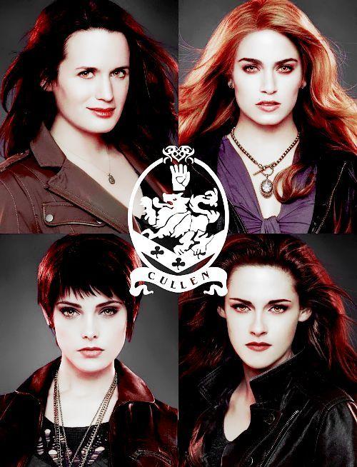 Las mujeres Cullen  Esme, Alice, Rosalie y Bella | Twilight