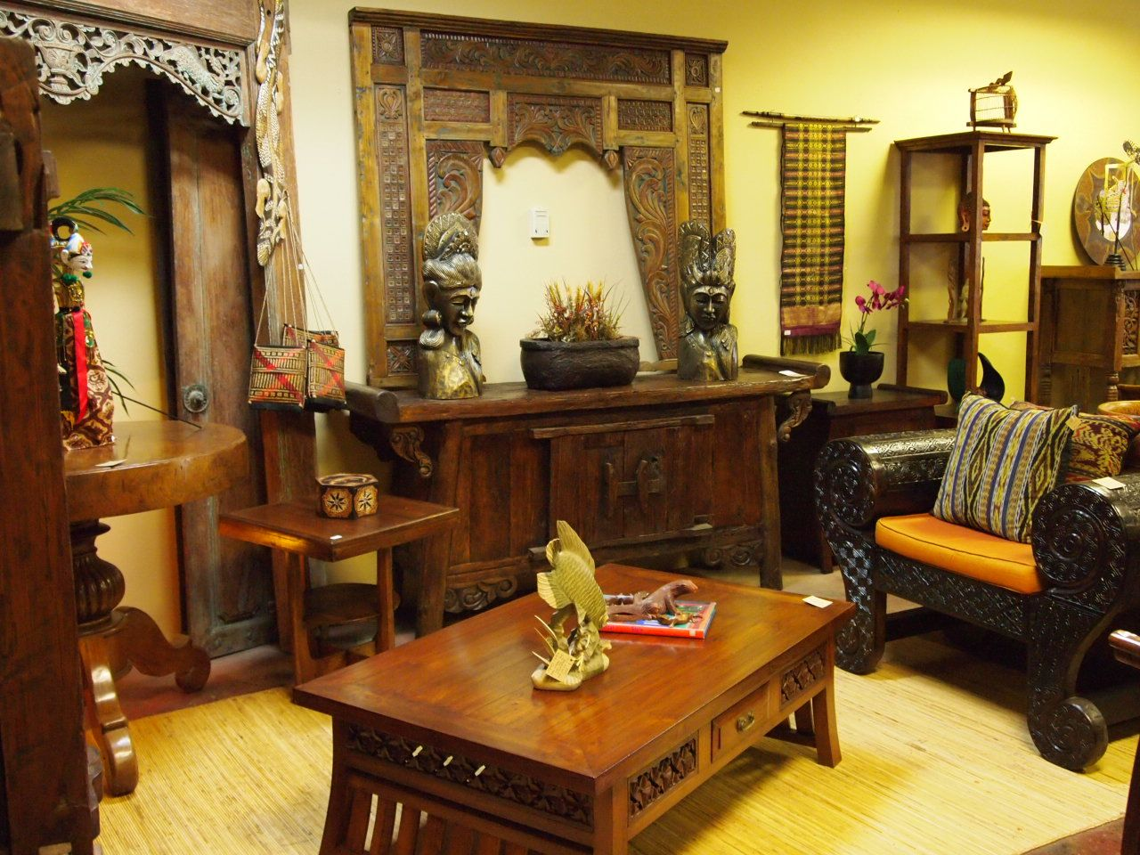 The Gado Gado Gallery In Atlanta Indonesian Furniture
