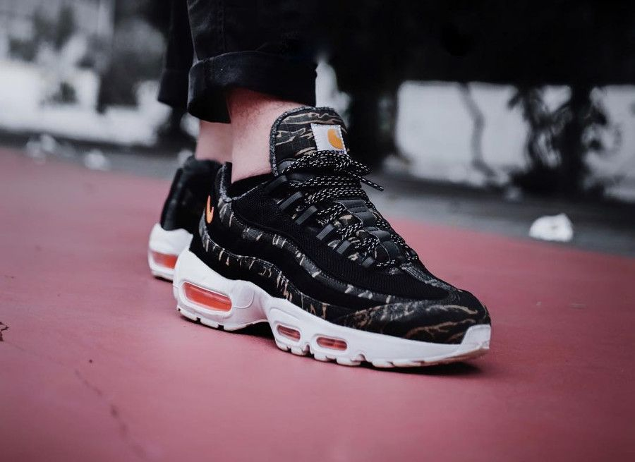 Nike Air Max 95 PRM Carhartt Wip  Tiger Camo Ripstop  (2018)  ce7ccd965