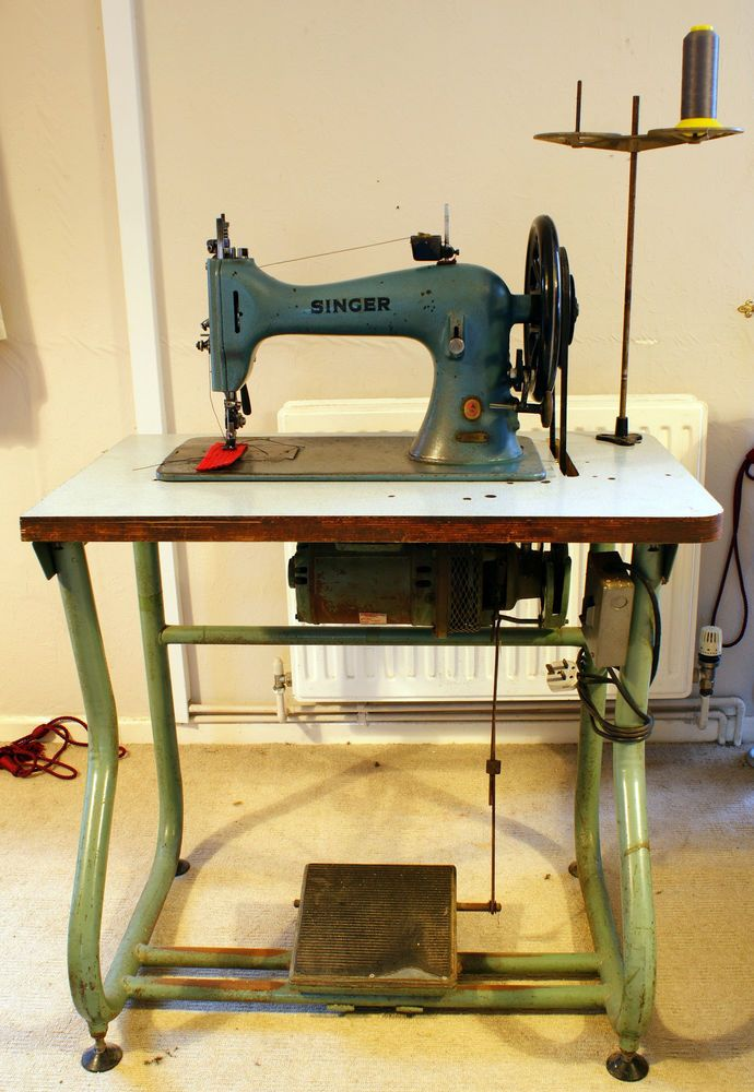 RARE Singer 40K40 Walking Foot Heavy Duty Industrial Leather Impressive Heavy Duty Leather Sewing Machine