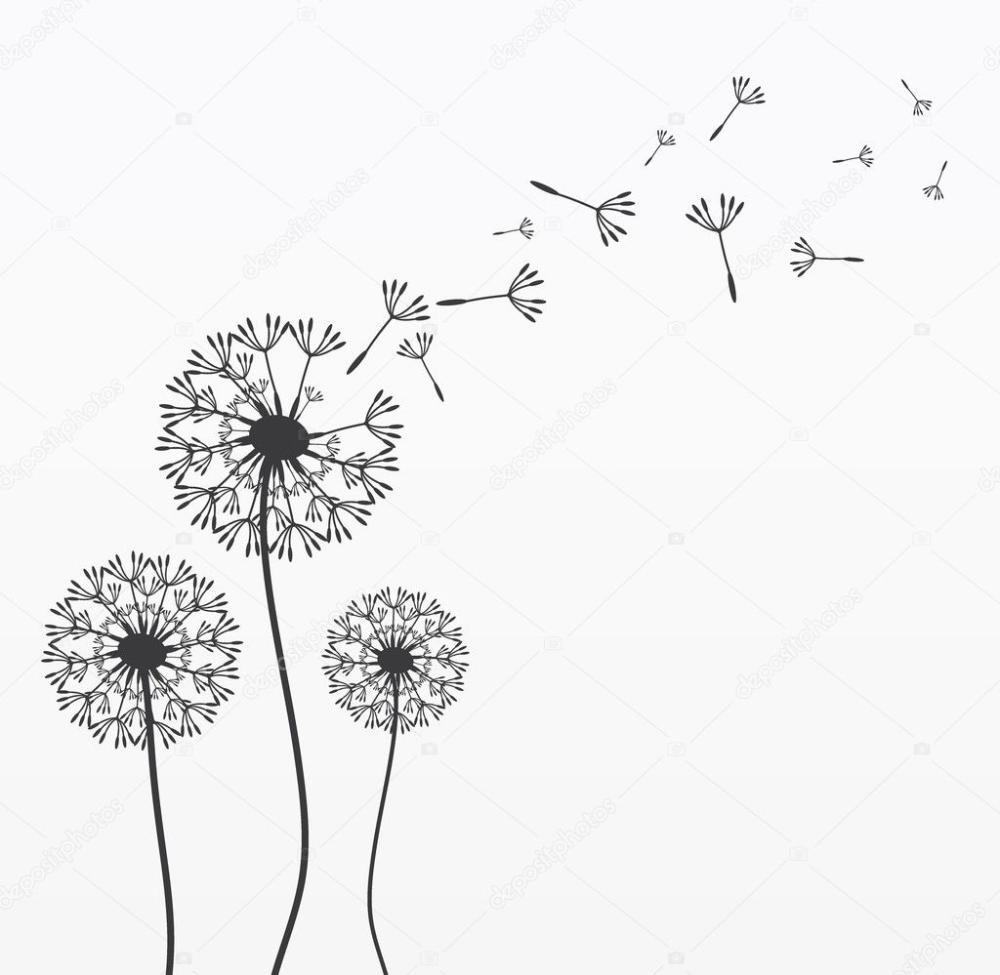 herunterladen drei vektor lowenzahn stockillustration illustration pusteblume schlange schultüte
