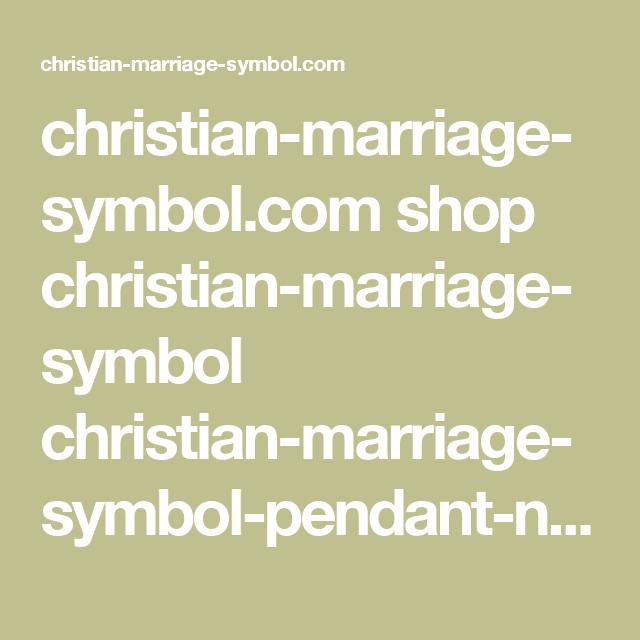 Christian Marriage Symbol Shop Christian Marriage Symbol