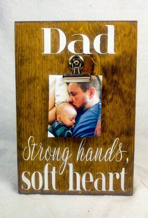 Fathers Day Gift For Dad New Picture Frame