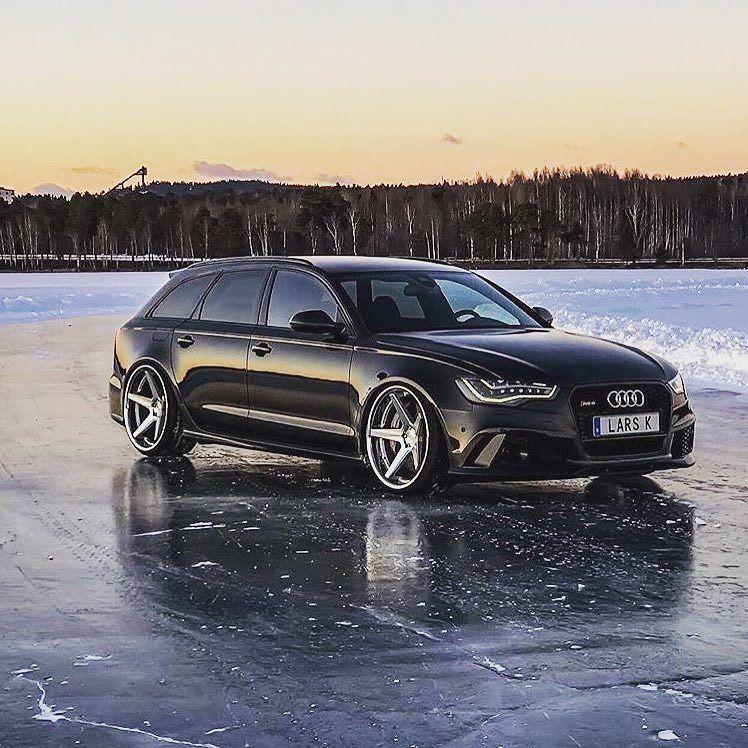 "Your opinion on those wheels? -- #Audi #RS6 on Ferrada 22"" wheels ---- oooo #audidriven - what else photo @ferradawheels ---- -- #AudiRS6 #blackRS6 #Audicolor #quattro #4rings #AudiSport #v8 #blackAudi #sweden #biturbo #drivenbyvorsprung #audisweden #carsbyaudisport #audiled #rs6avant"