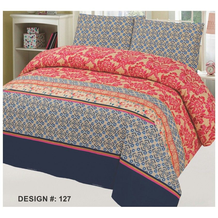Buy guaranteed cotton printed bed sets all sizes design cc
