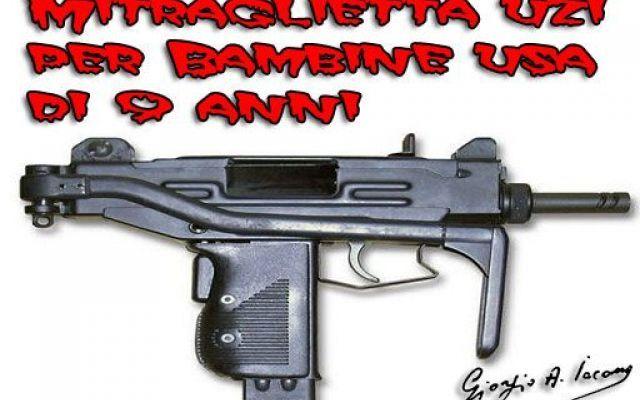 La mitraglietta è un ottimo regalo di compleanno per bambine #armidafuoco