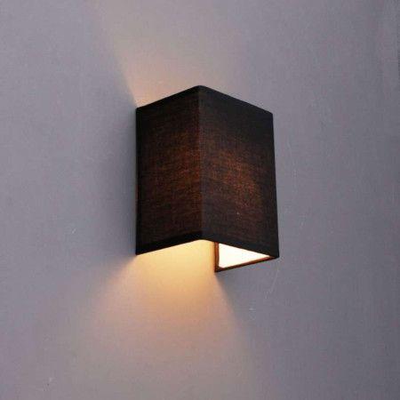 Wandleuchte Vete schwarz ein Blickfang in jedem Raum!  #Wandlampe #Wandleuchte #Lampe #Innenbeleuchtung