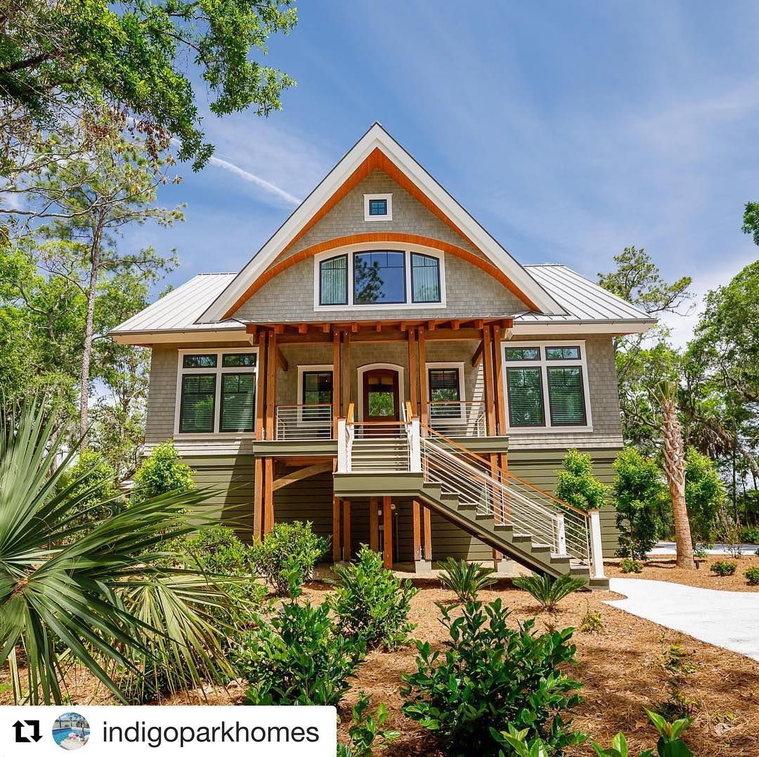 "Jain Building Products on Instagram: ""Featuring Our #nucedar shingles. It's a Dream Home for sure. Amazing work Indigo Park! #nucedarshingles #siding #coastalliving #indigopark…"""