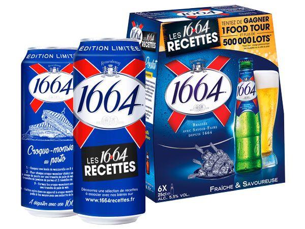 80 recettes et jeu concours avec les packs et boites 1664 ...