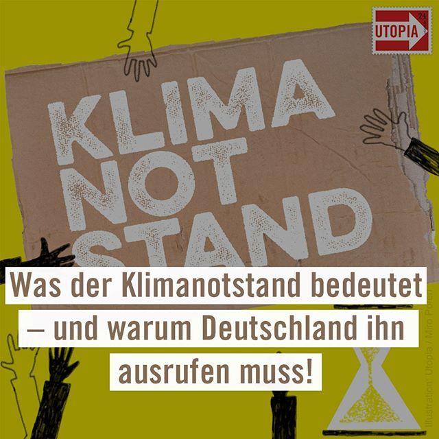 warum deutschland unbedingt den klimanotstand ausrufen