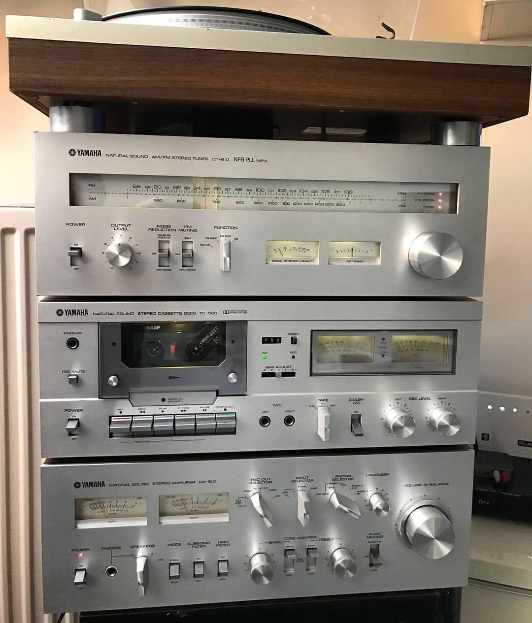 Yamaha Vintage Setup Yamaha Audio Audiophile Analogaudio Hifi Hifiaudio Hiend Hobby Vintageaudio Vintageamplifi Yamaha Audio Hifi Audio Yamaha Hi Fi