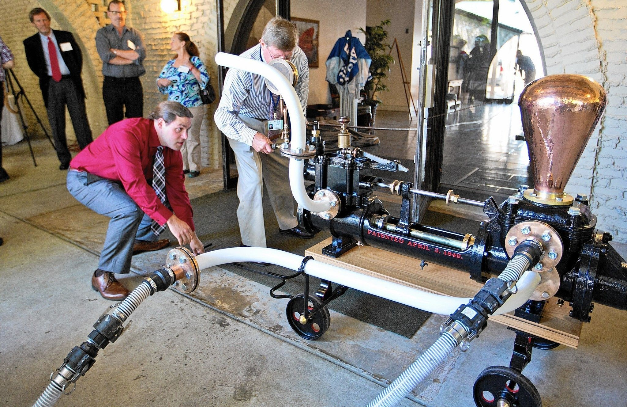 Nearly 155 years after one of America's greatest naval engineers choose them for history's first mechanized warship, two Worthington pumps recovered from the wreck of the Civil War ironclad USS Monitor have been designated as a world Historic Mechanical Engineering Landmark.