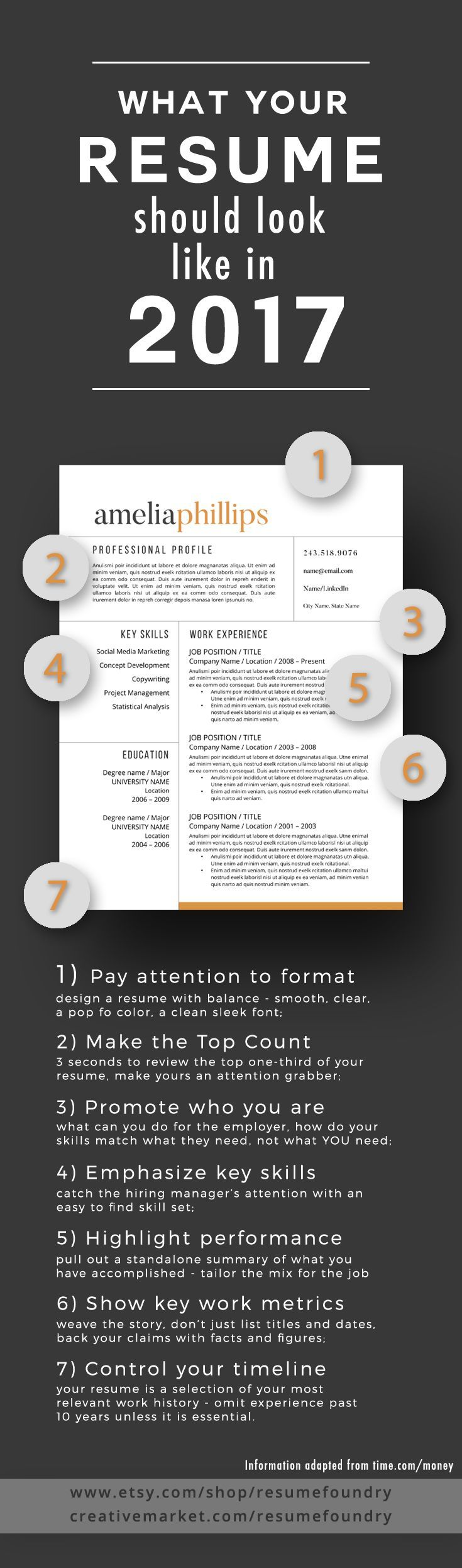 7 Resume Design Concepts Which Get You Hired Resume Tips In 2020 Resume Tips Job Interview Helpful Hints