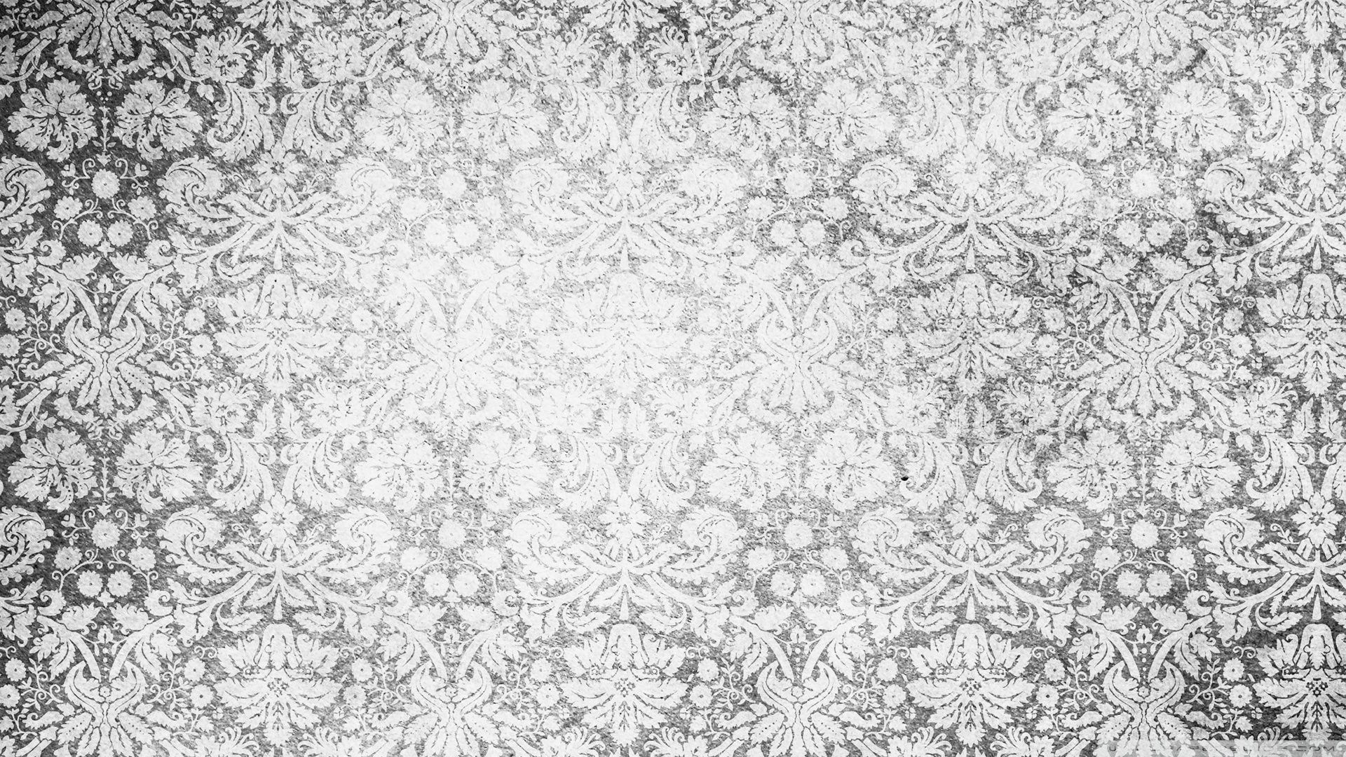 Vintage wallpaper black and white vintage pattern wallpaper
