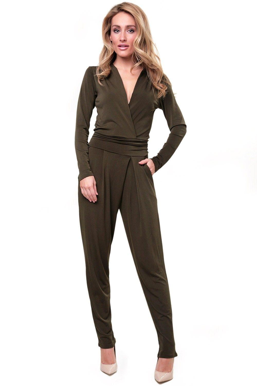 ed298fe0c12d Fine Long Sleeve Jumpsuit