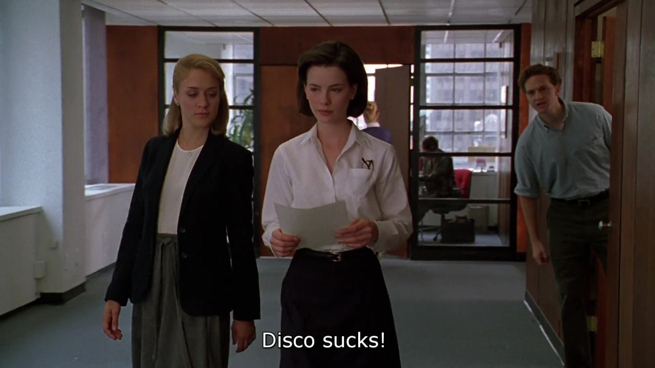 The Last Days Of Disco Whit Stillman 1998 Chloë Sevigny Kate Beckinsale Matt Ross Chloe Sevigny Disco Last Day