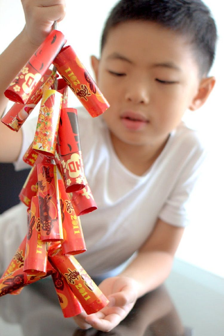 7 Crafts for the Lunar New Year | Chinese new year crafts ...