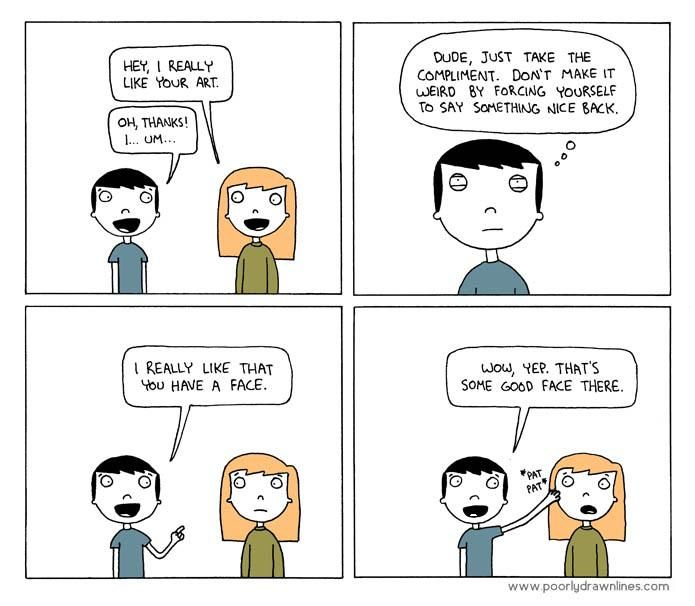flirting meme awkward face cartoon face image