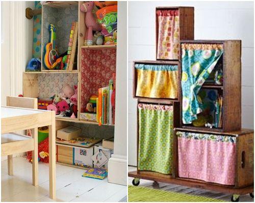 Decorar cajas de madera para habitaciones infantiles diy - Decorar cajas de madera con servilletas ...