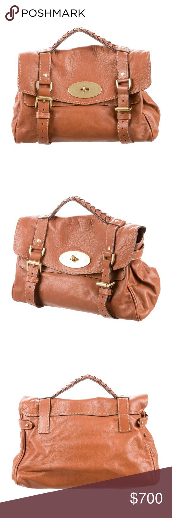 2de3abb6c0a1 ... switzerland mulberry cognac leather alexa bag cognac leather mulberry  alexa bag with antiqued gold 7e487 ad6c1