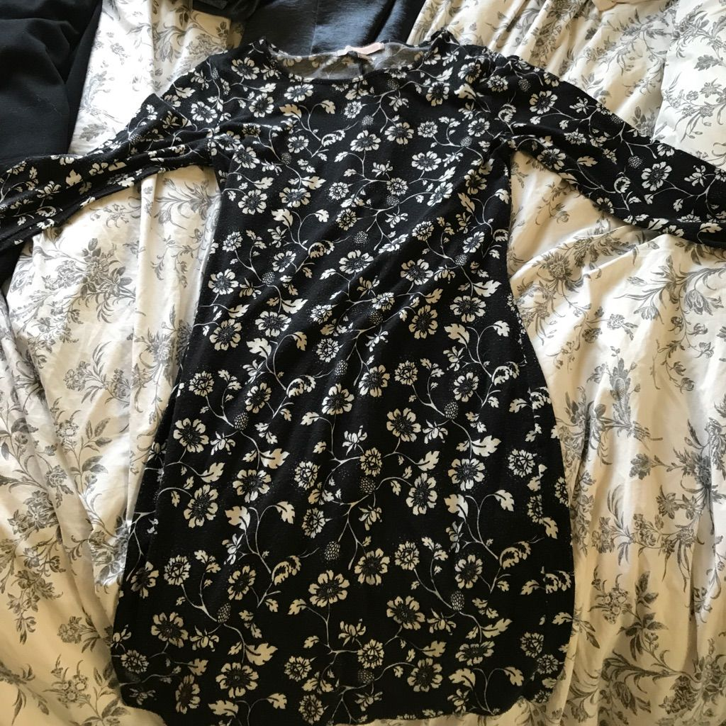 Floral black dress products