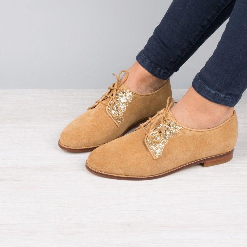 8b3fb74ecaa9e2 Derbies & Richelieu : La Romancière - Ambre   Shoes   Richelieu ...