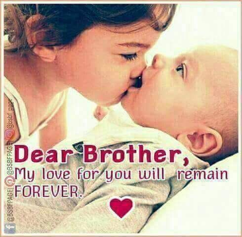 A Sisters Love Always Follow You Brother And Sister Memes I Love You Brother I Love My Brother
