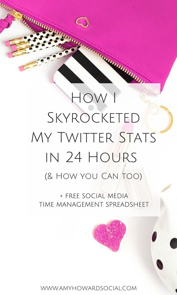 See how my Twitter exploded and my stats skyrocketed by doubling...TWICE... in just 24 hours! (Grab the spreadsheet to skyrocket your Twitter stats too.)