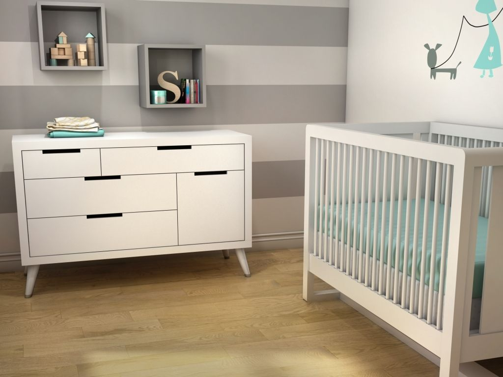 44 best images about Natart collection / Nest / Tulip on Pinterest ... - You asked for it and Michel designed it ! The Soren Double dresser & Crib  combo