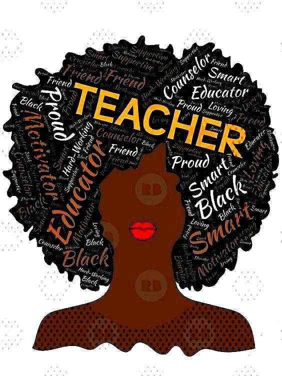 Teacher Afro for African...quotArtistic Teacher Afro for African...