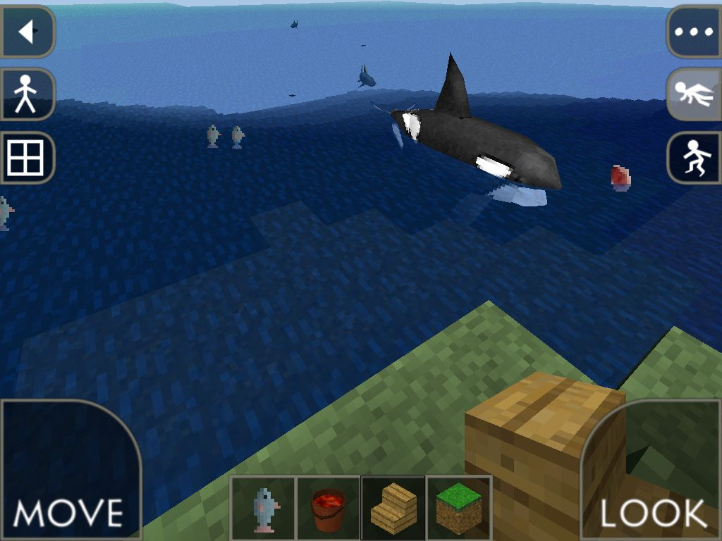 This is on survival craft orca orcas are rare faith webb for Explore craft survival pe