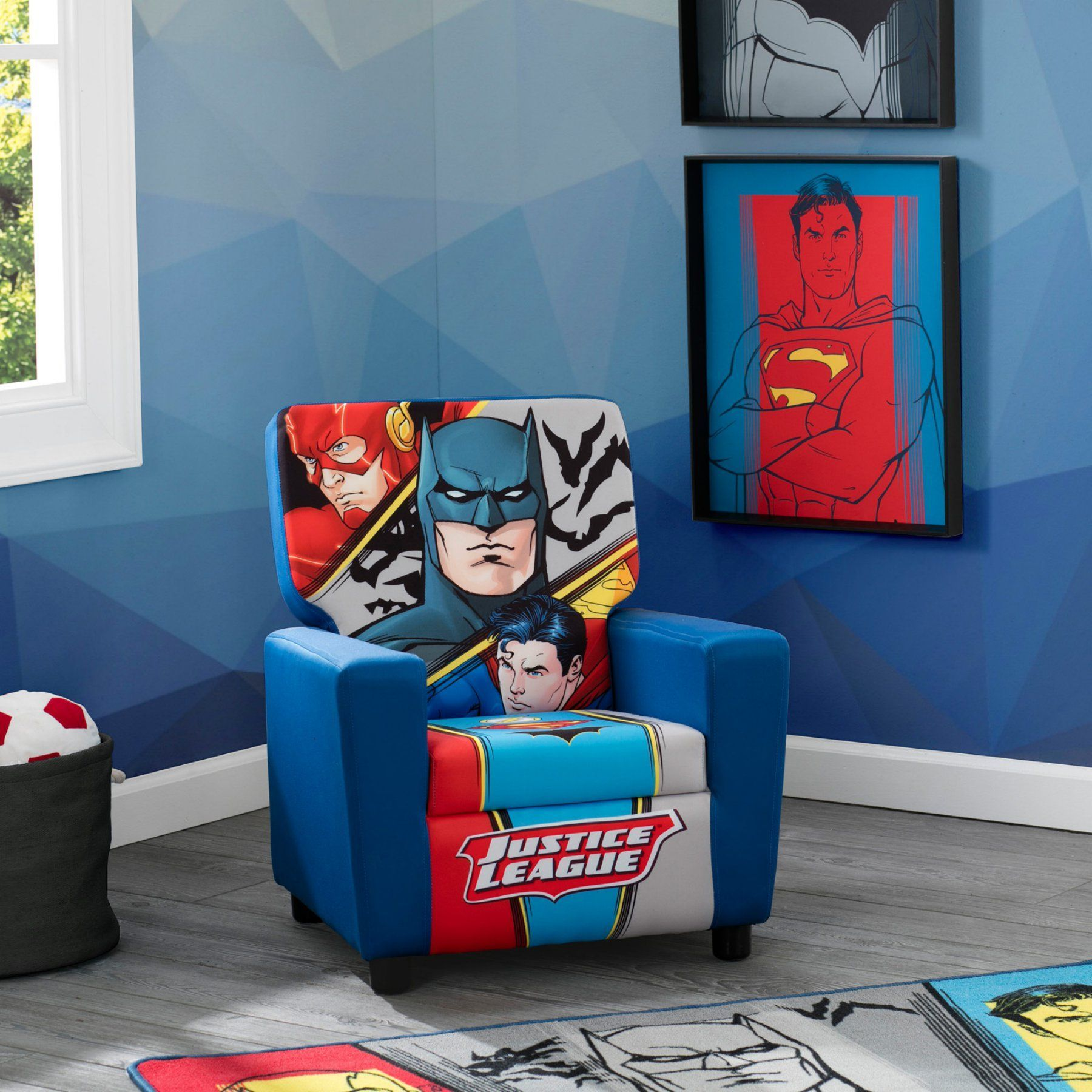 Attrayant DC Comics Justice League High Back Upholstered Chair   UP83606JL DC Comics  Justice League High Back