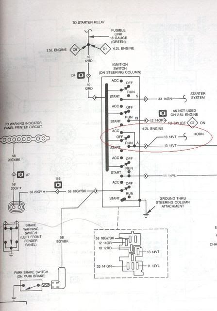 jeep yj wiring diagram   jeepwrangleryjelectrical, Wiring diagram