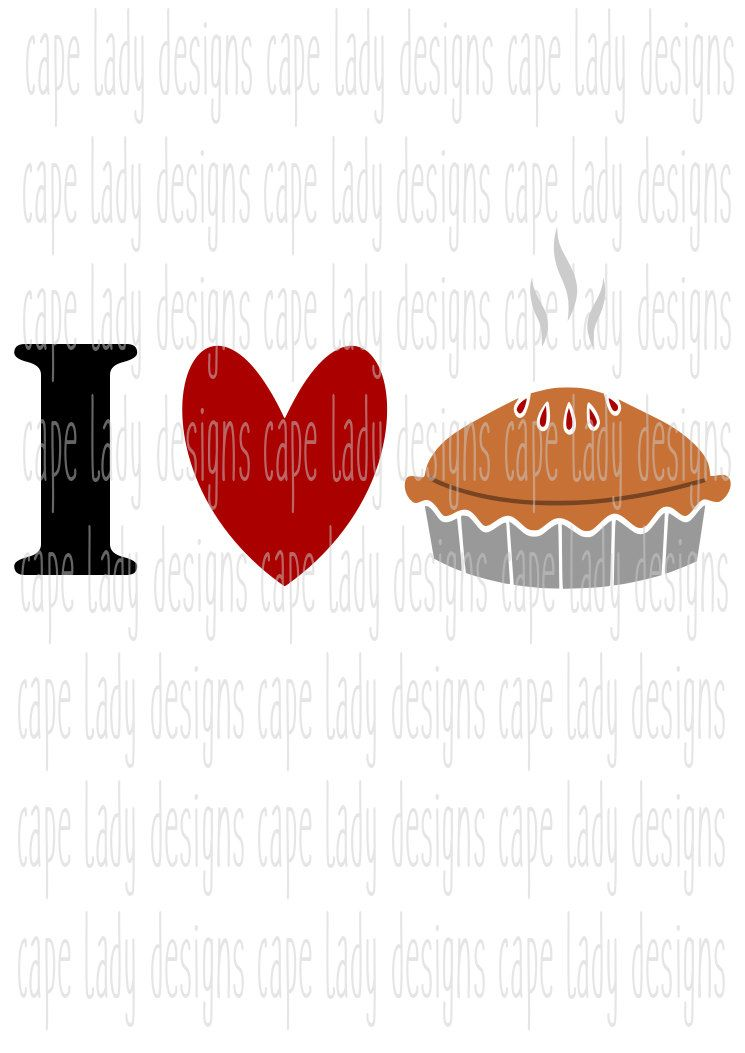 View Here For The Pie Thanksgiving Svg Dxf Eps Png Cut File Ò Cricut Ò Silhouette Image