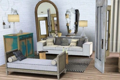 Spring4Sims New Living Room by Exotic Elements 3