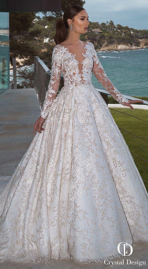 Crystal Designs Wedding Dresses 2019 Paris Collection