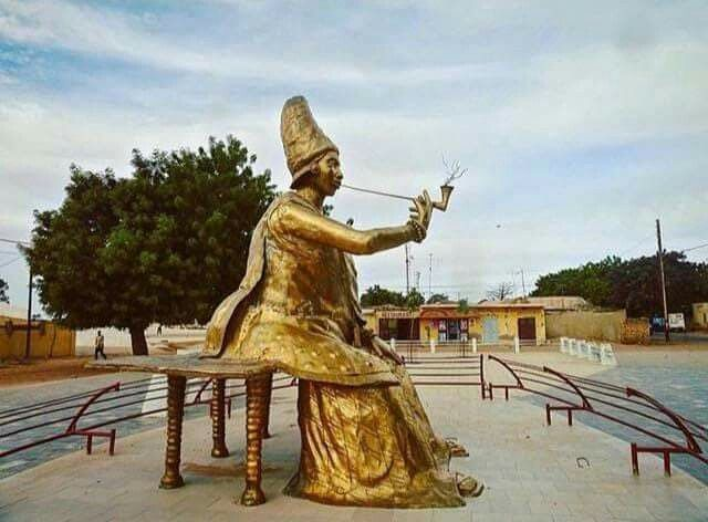 Image result for Queen Ndate Yalla Mbodj statue