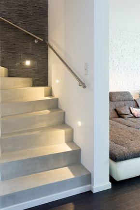 Photo of Treppe in Betonoptik – Fugenlose Oberflächen von Hand gespachtelt