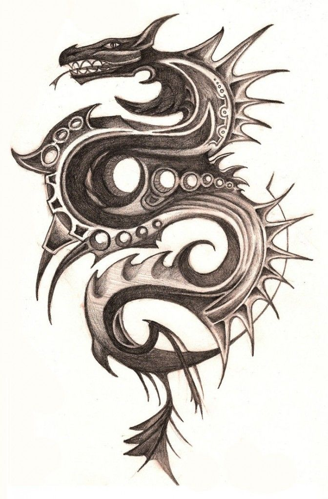 50 Dragon Tattoos Designs And Ideas Dragon Tattoo Designs Celtic Dragon Tattoos Dragon Tattoos For Men