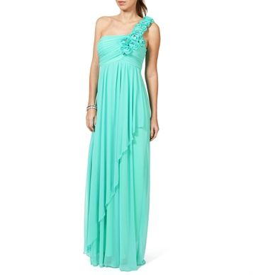 BRIDESMAID DRESS OPTION Minka-Bright Seafoam Prom Dress (personally ...