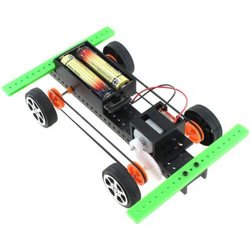 Battery DIY Micro Car Kit - STEM Maker Kit | $4.00