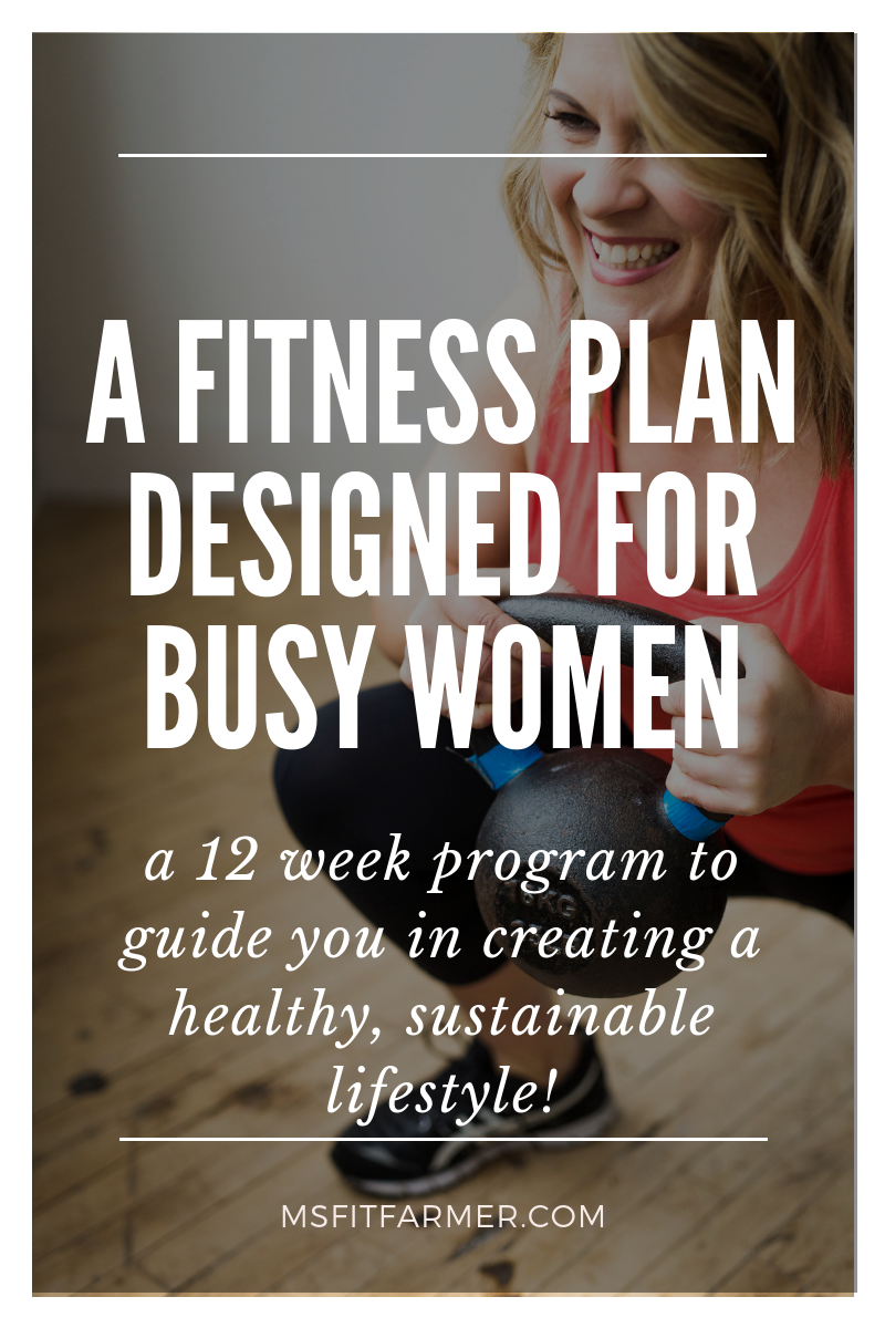 fc2e248675e Rediscover your best self with this highly customizable fitness plan  specifically for busy women. Learn