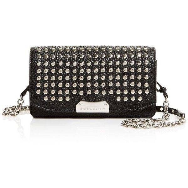 03534a022cf8 Burberry Madison Stud Wallet on a Chain Crossbody (3