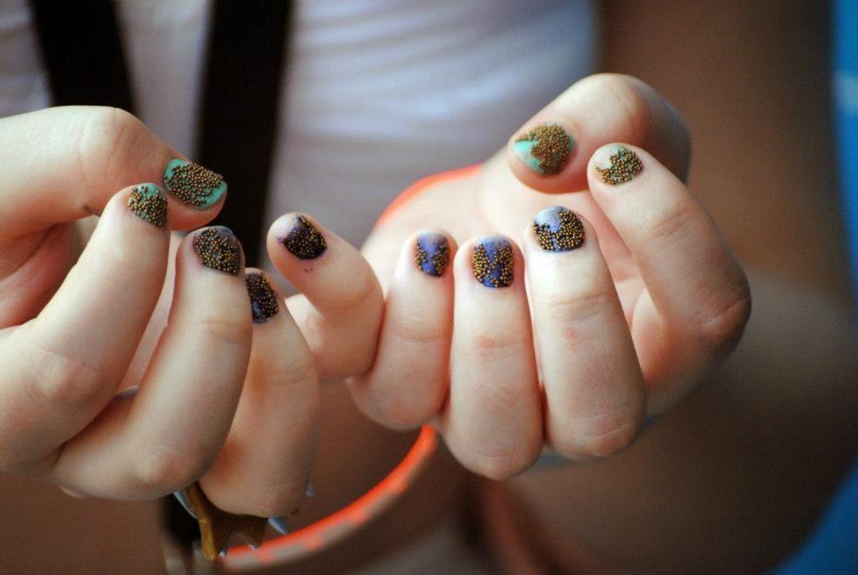 Jesse J nails. | J nails, Class ring, My style