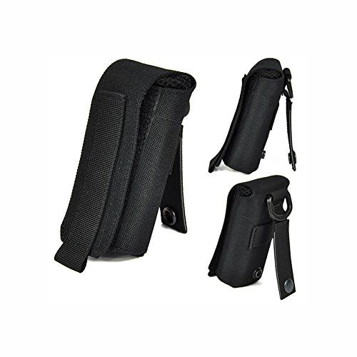 OneTigris Molle Foldable Water Bottle Bag Outdoor Sports Drinking Bottles Pouch Black * You can get additional details at the image link.