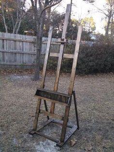 Build It Yourself Painters Easel #woodworkingprojectschair