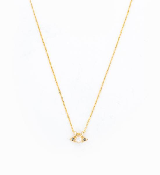 Diamond Spear Necklace: $485