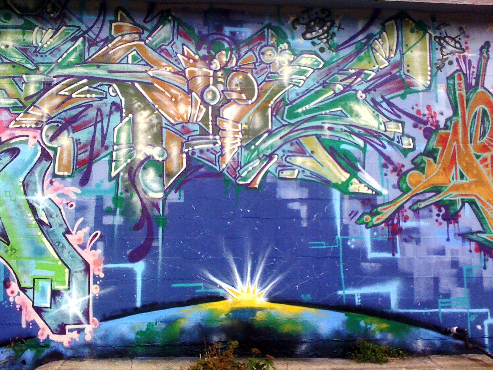 Graffiti Art In Lexington Kentucky Graffiti Murals Graffiti Mural