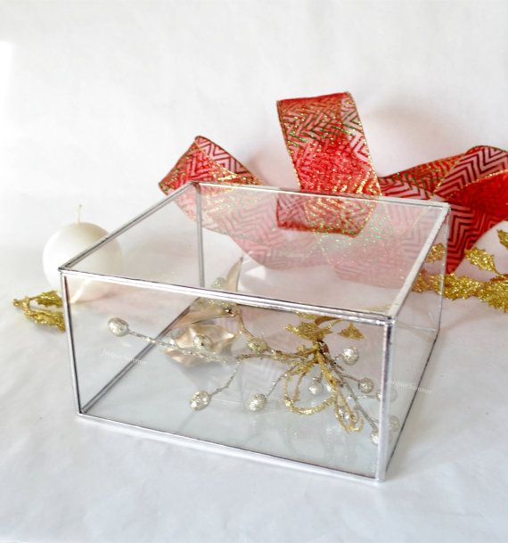Photo Display Box Glass Box Display Case Glass By Jacquiesummer Glass Jewelry Box Glass Boxes Display Boxes