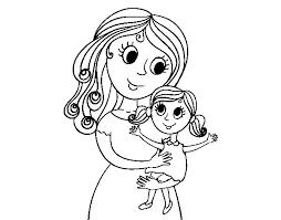 Výsledok vyhľadávania obrázkov pre dopyt mama a dieťa kreslené